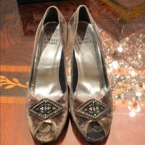 Stuart Weitzman velvet shoes size 7.5